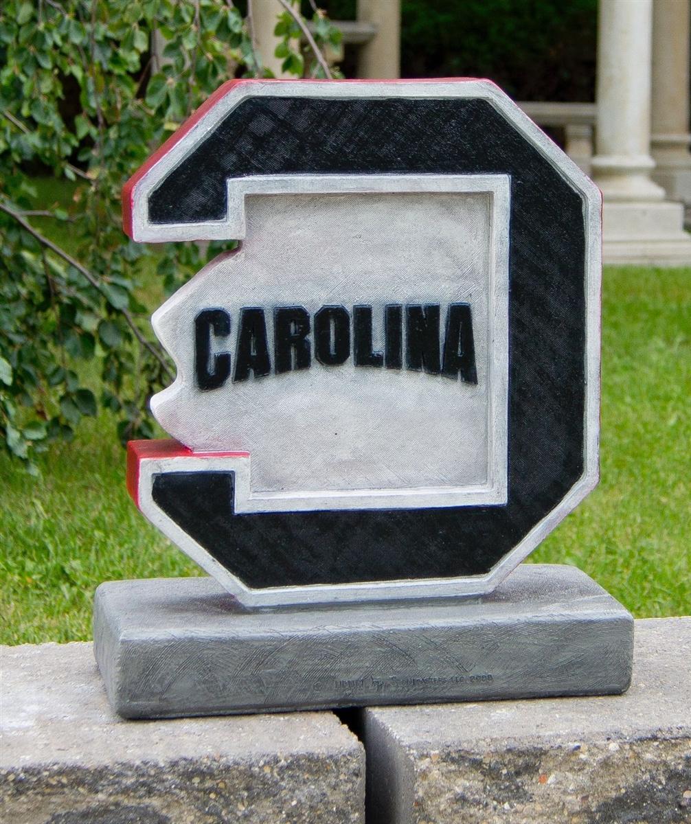 University of South Carolina Gamecock statue