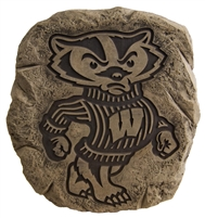 Bucky Badger stepping stone