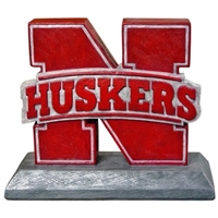 Huskers statue